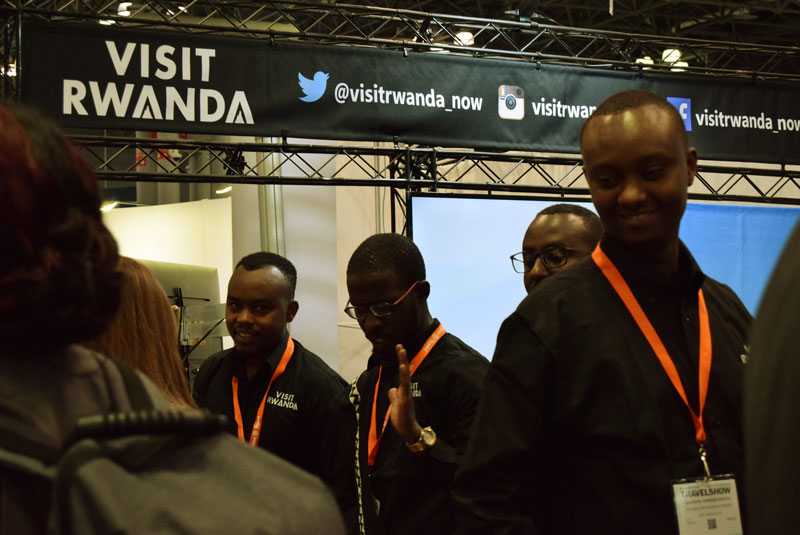 New York Times Travel Show Rwanda Table