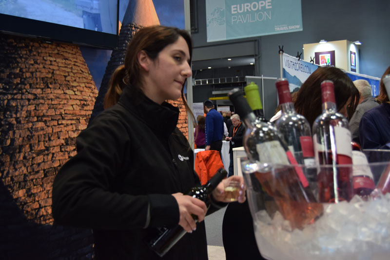 New York Times Travel Show Puglia, Italy Wine tasting