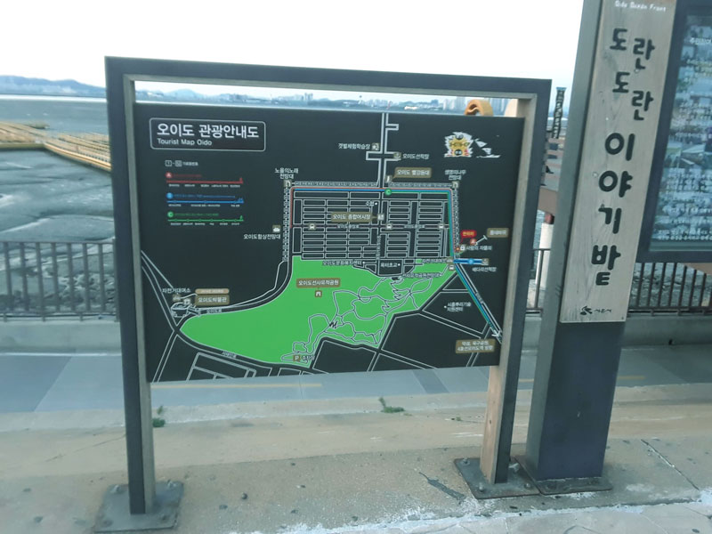 Oido Information Sign