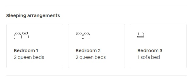 Airbnb-rental-layout