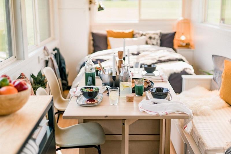 IKEA-tiny-homes-kitchen-bedroom
